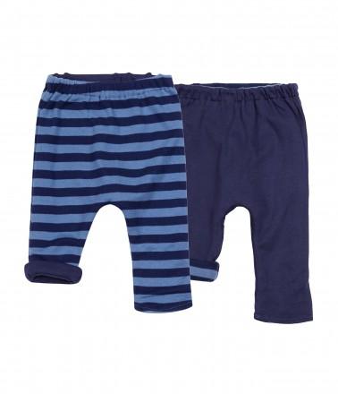 Boys' reversible trousers - both sides